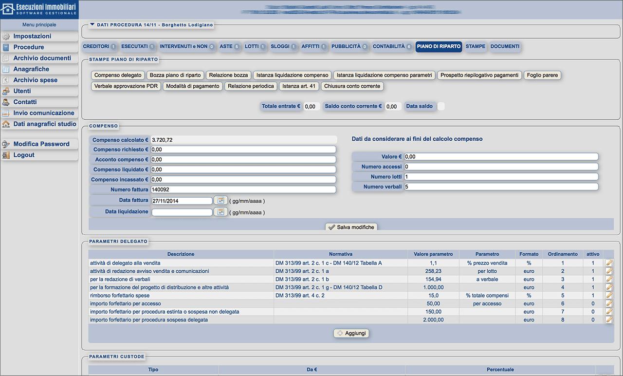 Software Gestionale Esecuzioni Immobiliari Online: offerta di prova 5 pratiche! - Immagine 5 / 6