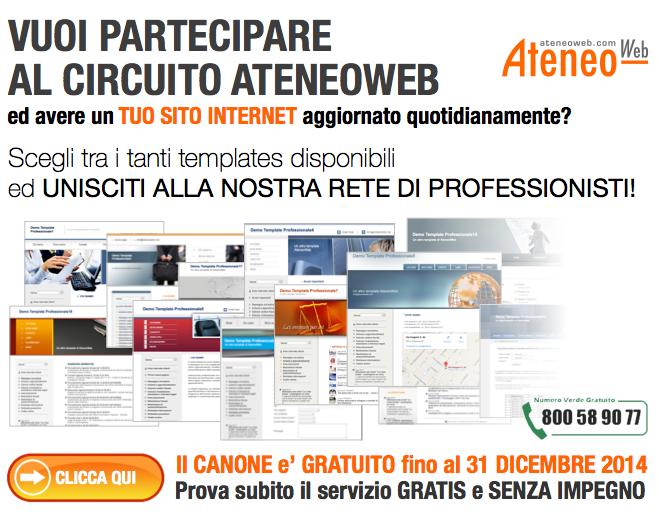 Unisciti alla nostra rete di Professionisti: partecipa al circuito AteneoWeb