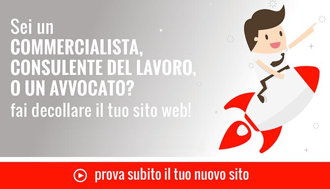 Attiva subito il tuo sito web